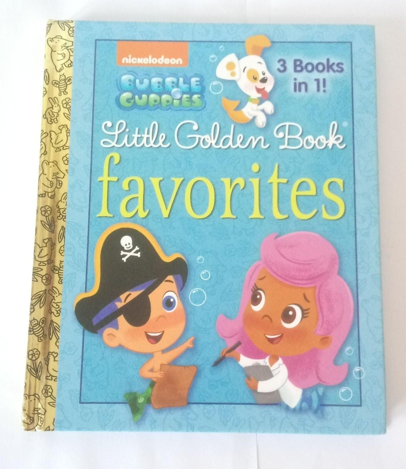 Bubble Guppies Golden Book