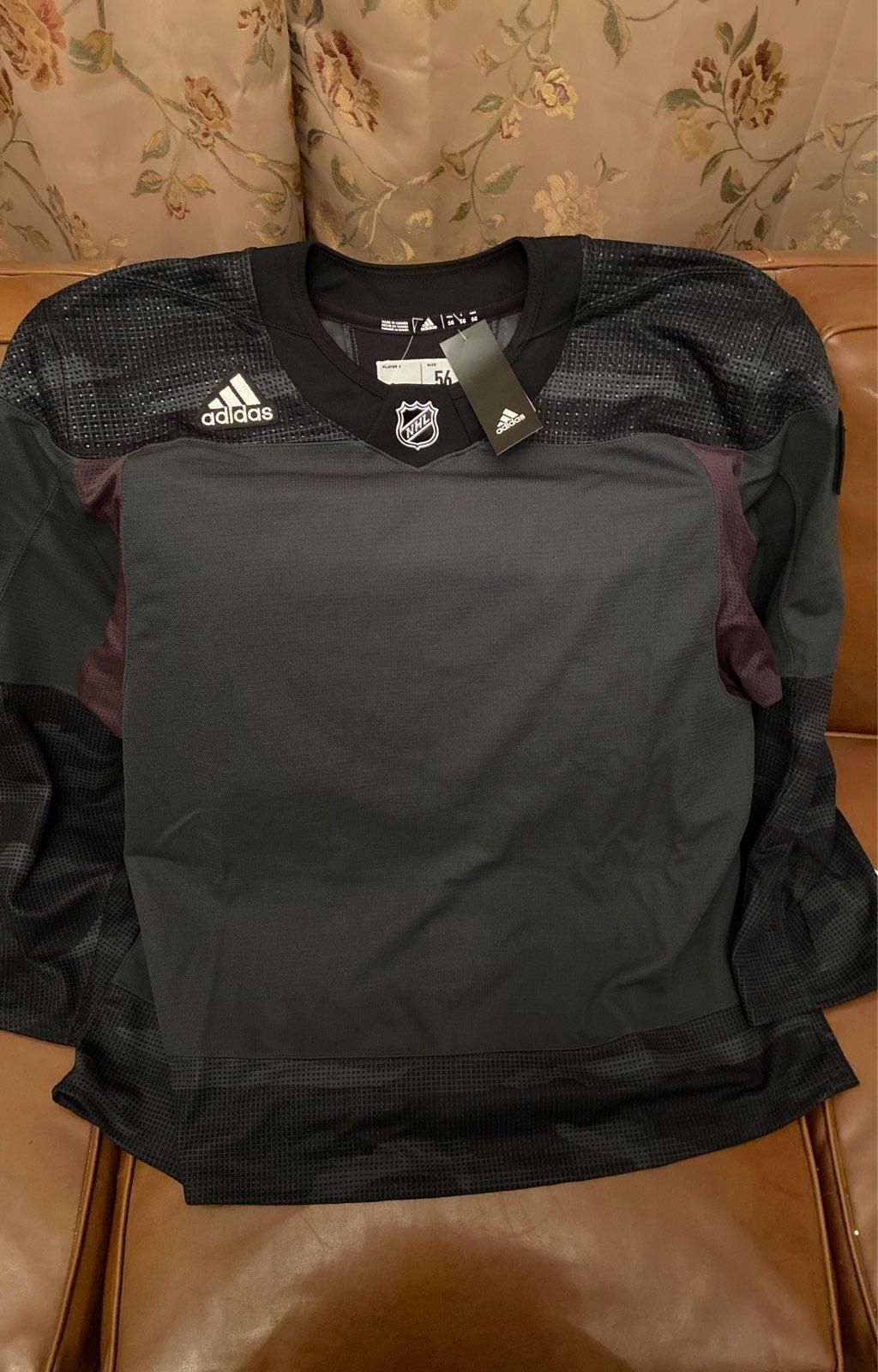 NHL Adidas Military Camo Blank Jersey
