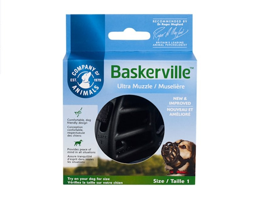 Baskerville Ultra Muzzle Size 1