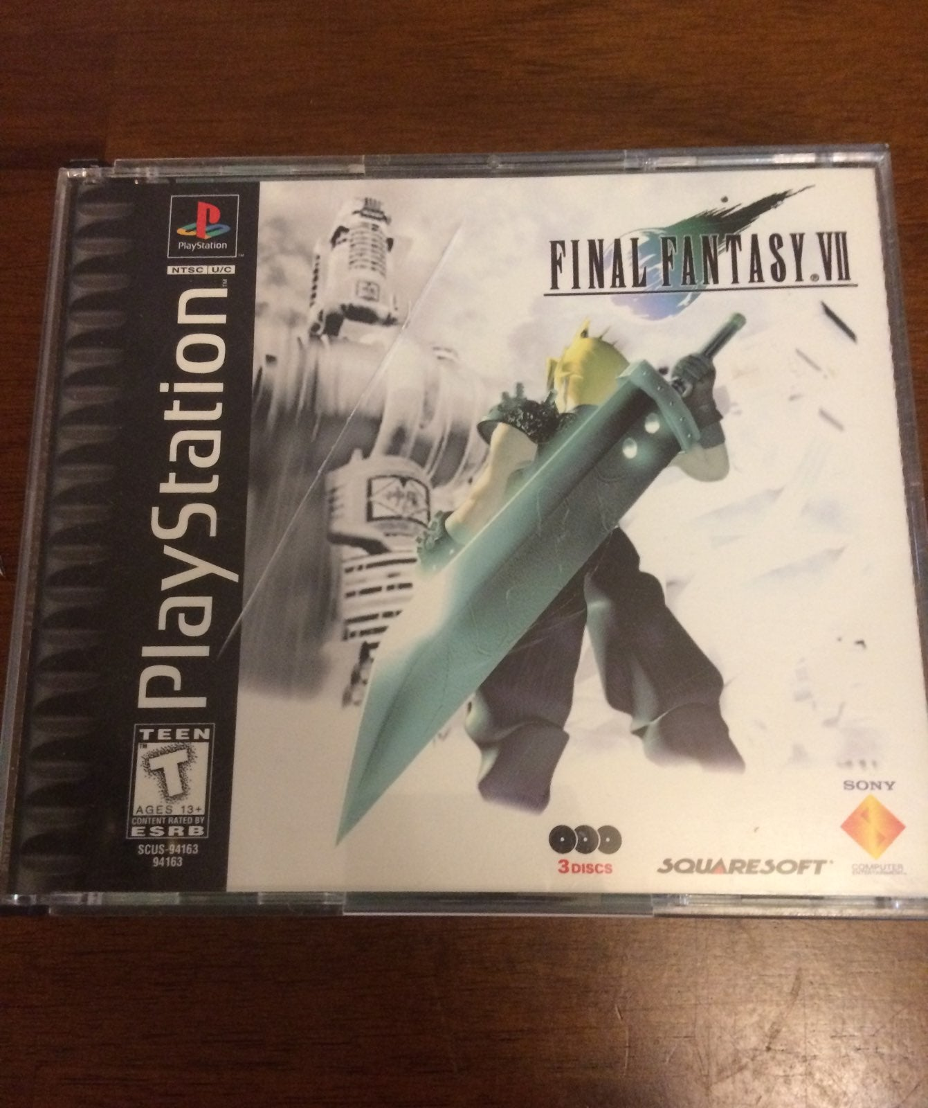 Final Fantasy 7 Original Misprint!