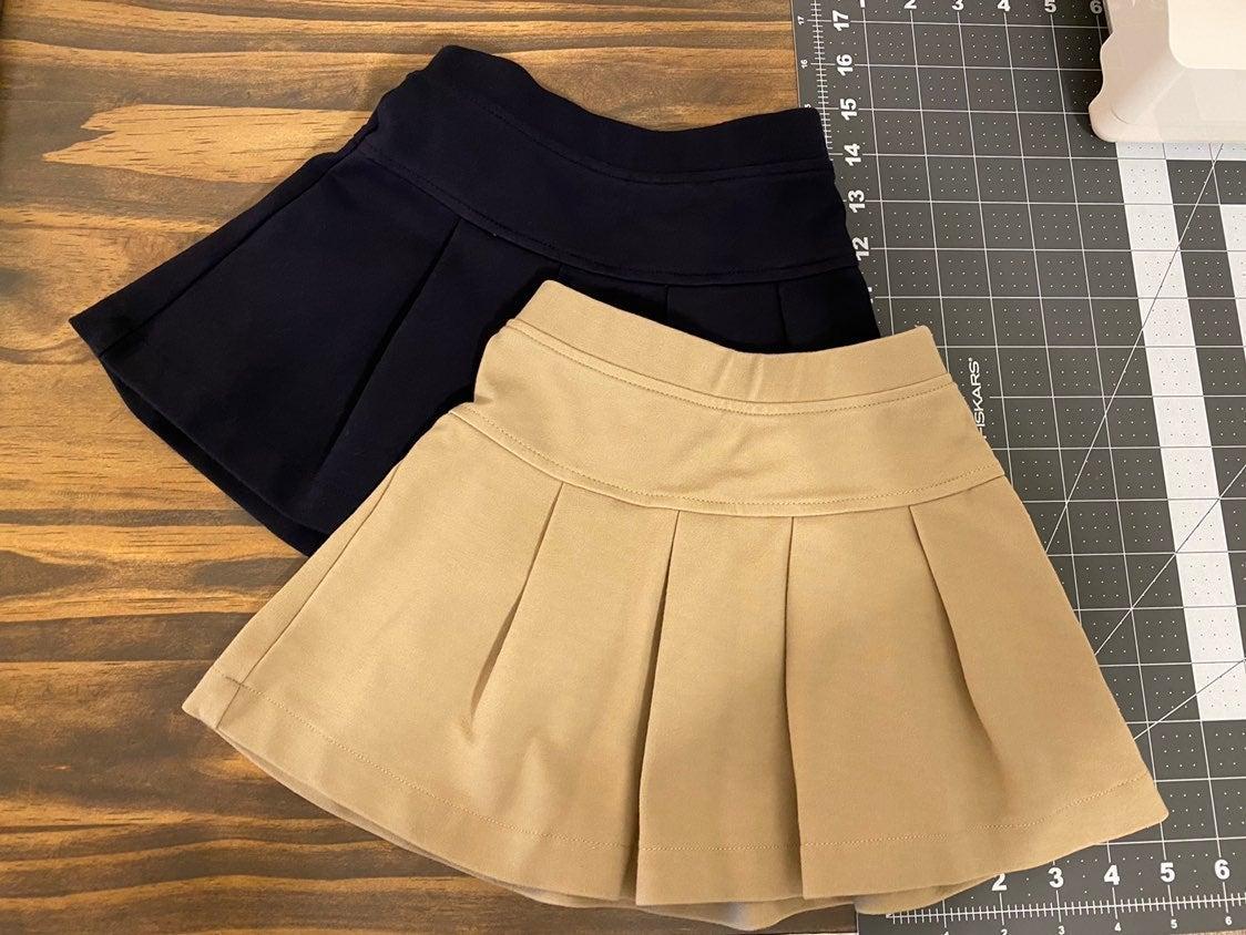 Primary uniform skirts