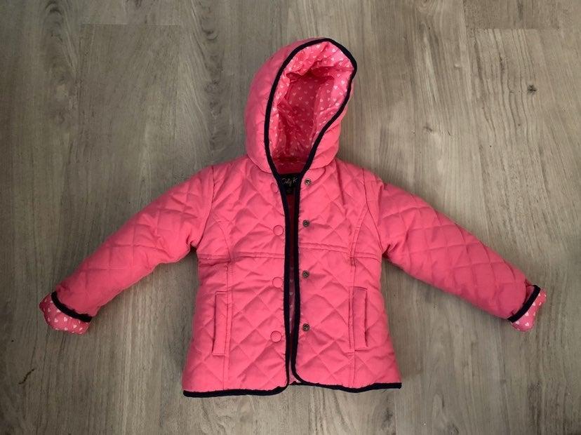 24M Pink Button Up Girls Jacket