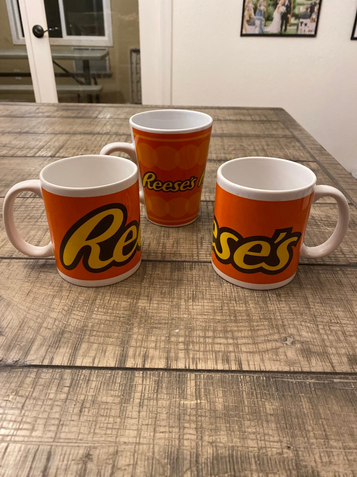 Set Of 3 Reese's Peanut Butter Cup Coffe