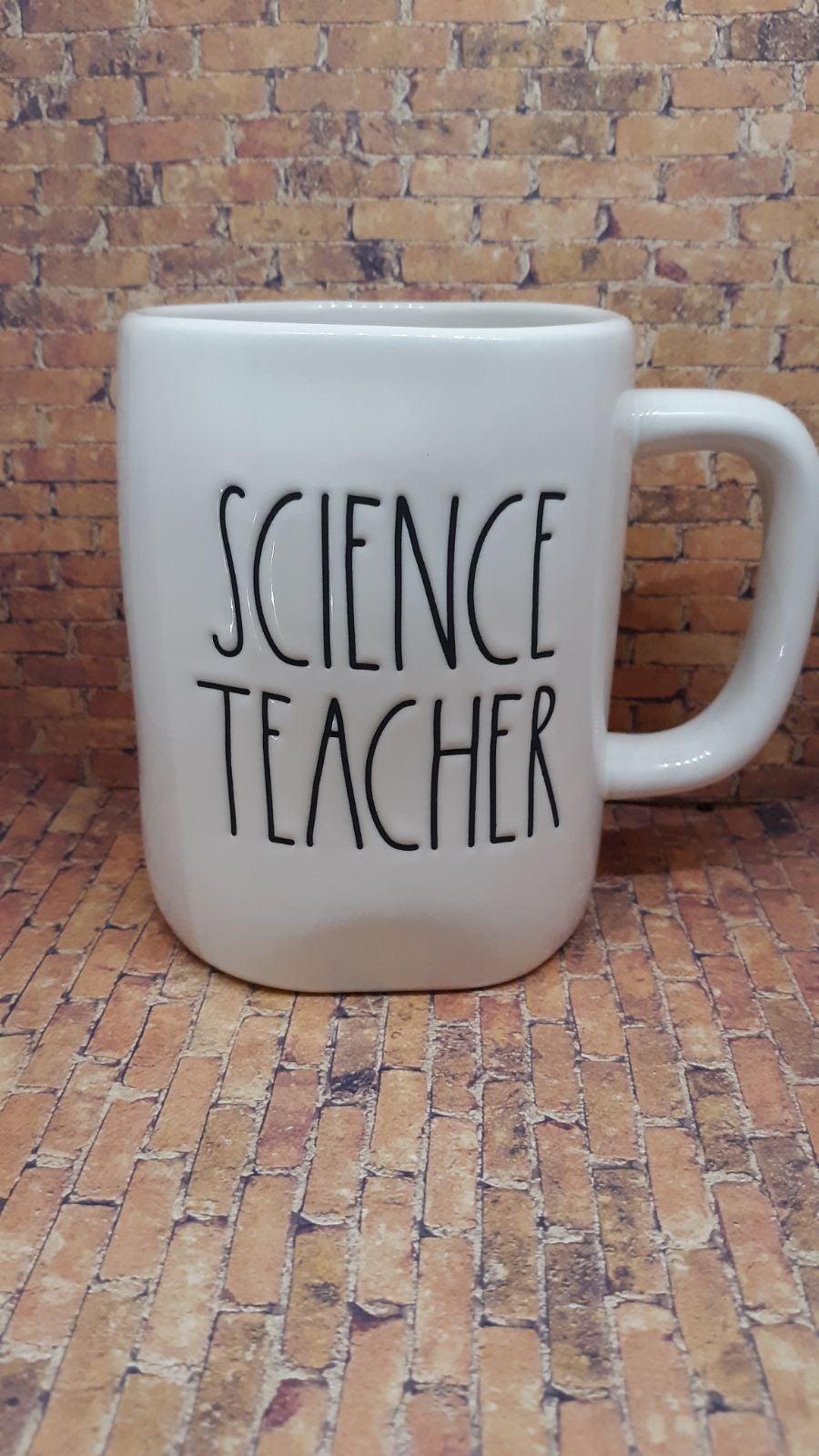 Rae Dunn Science Teacher Mug