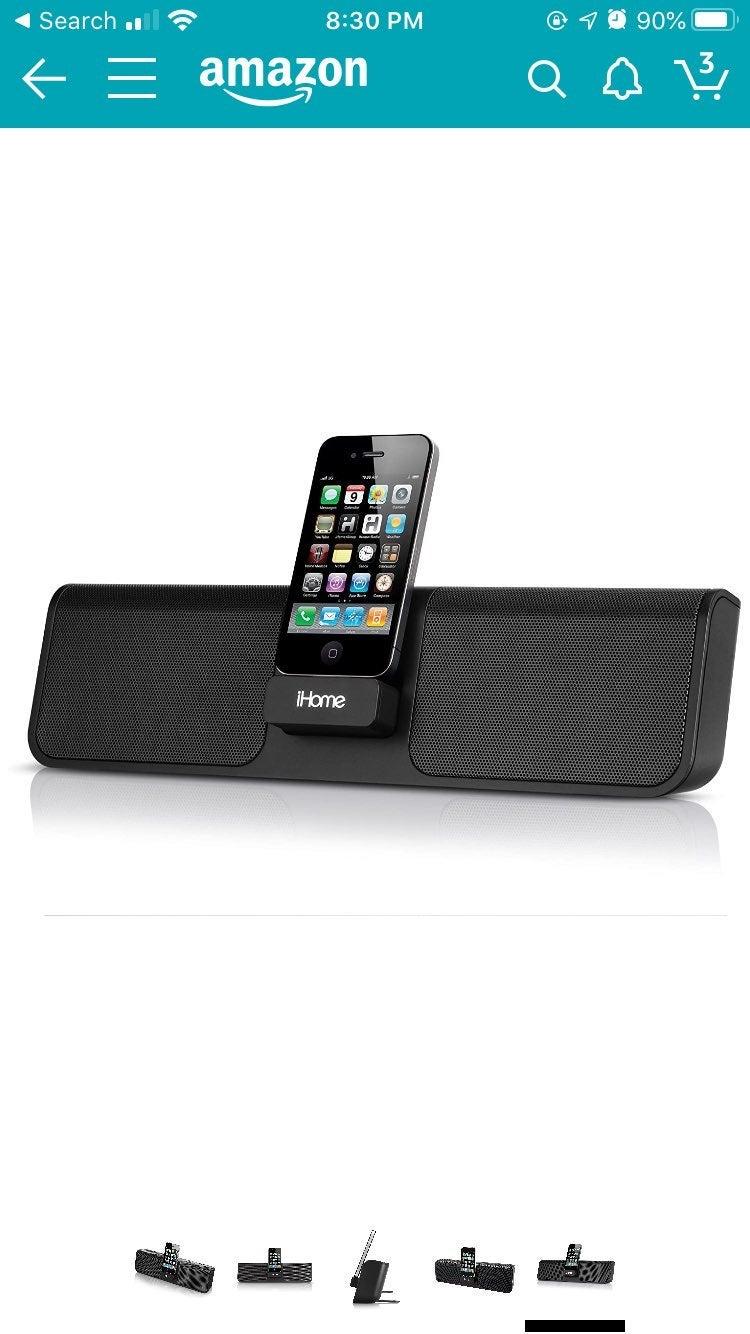 Ihome IP46 Iphone Speaker dock