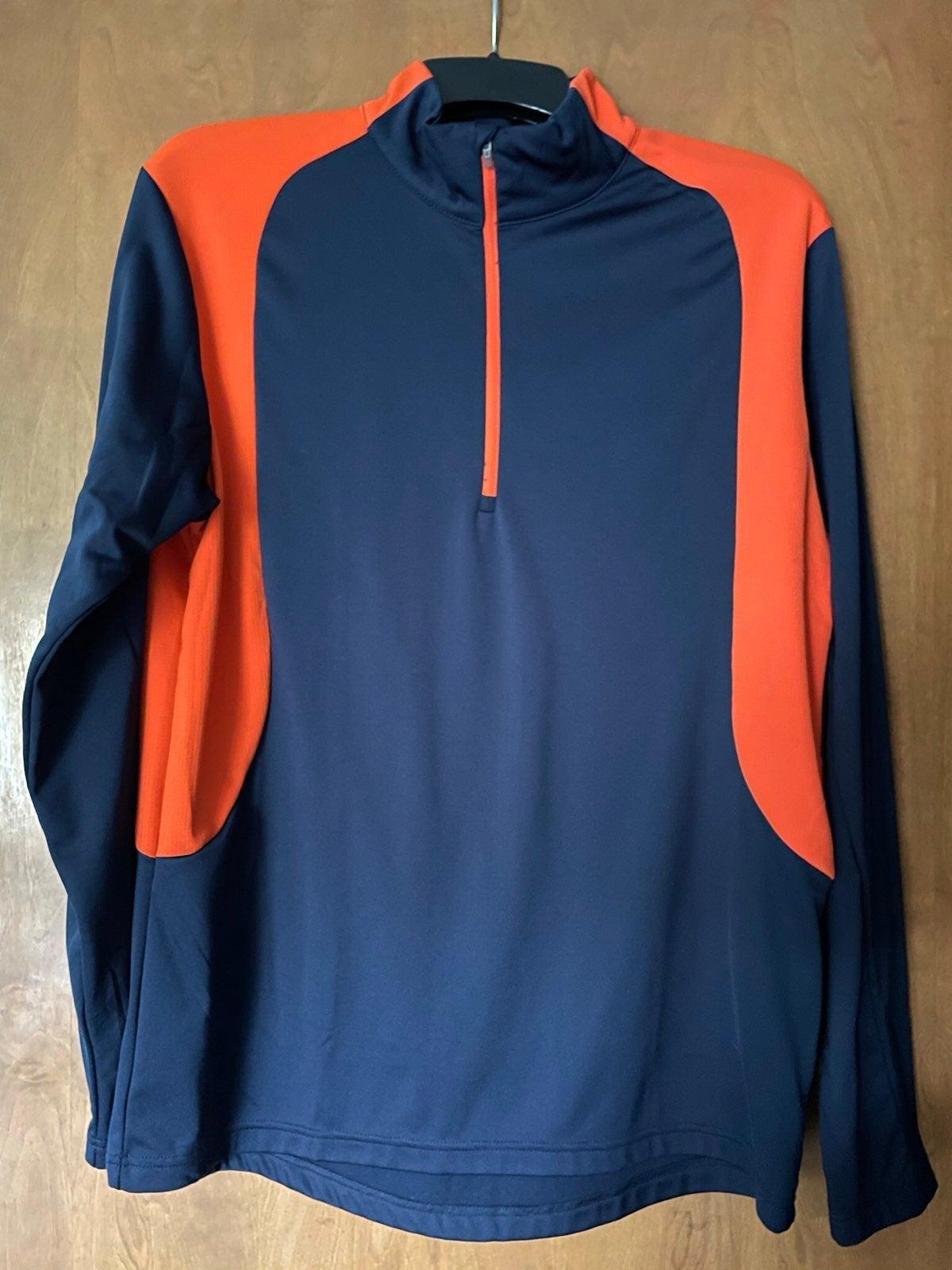 Men's 3/4 Zip Pullover Sz L
