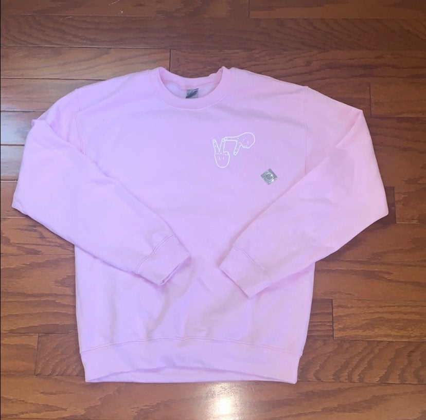 Kappa Delta Light Pink Sorority Sweatshi