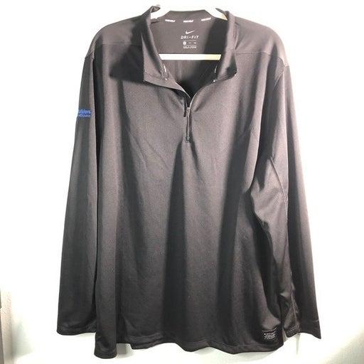 Nike Golf 1/4 Zip Long-sleeve Polo Black