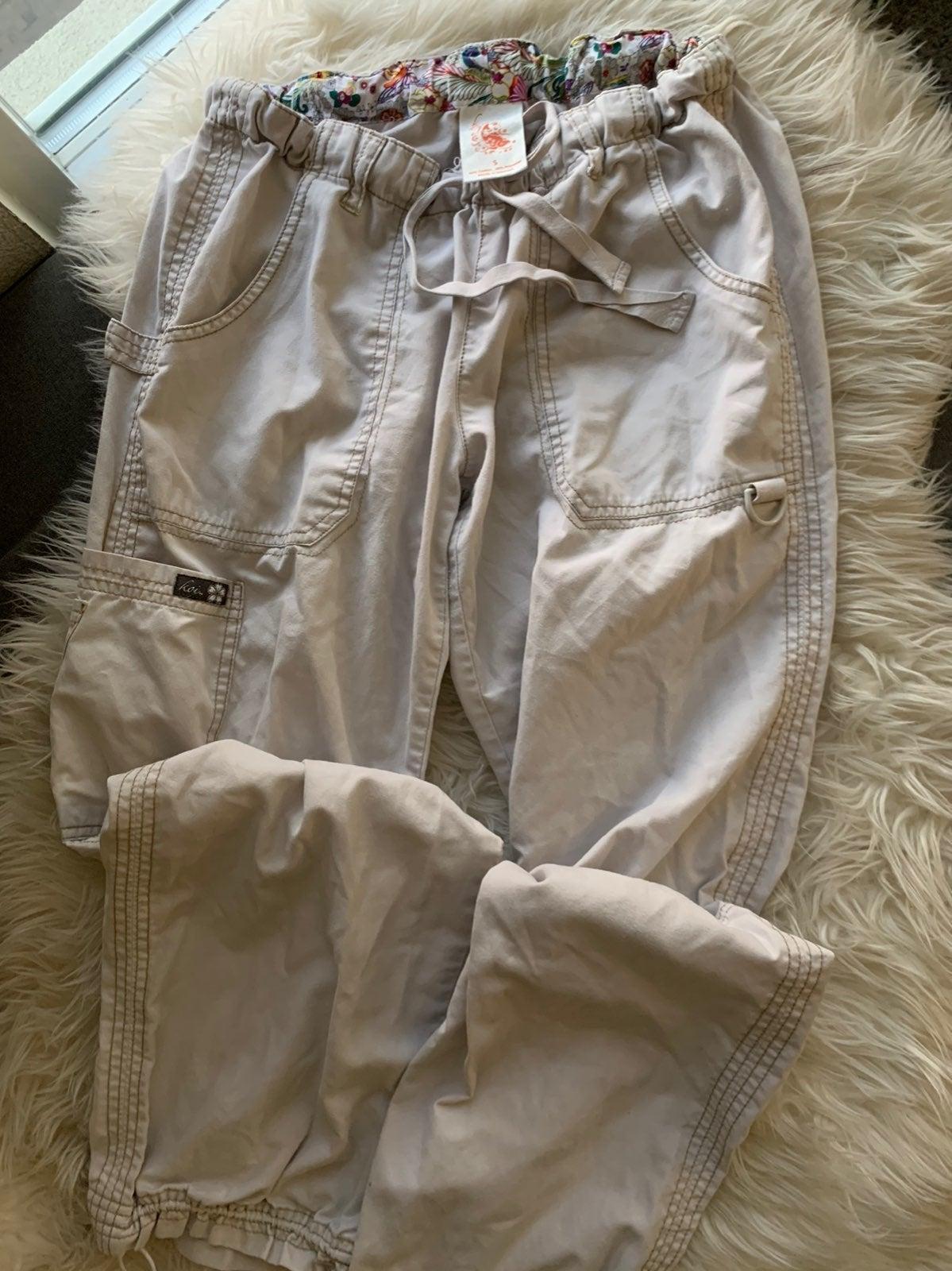 Khaki Koi Lindsey Scrub Pants size S