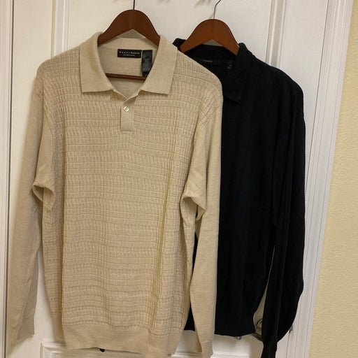 2 Mens pullover sweaters/LG