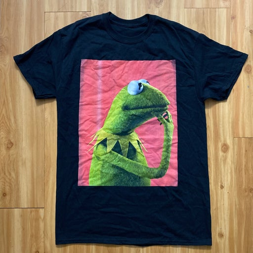 Vintage kermit the frog muppets tshirt