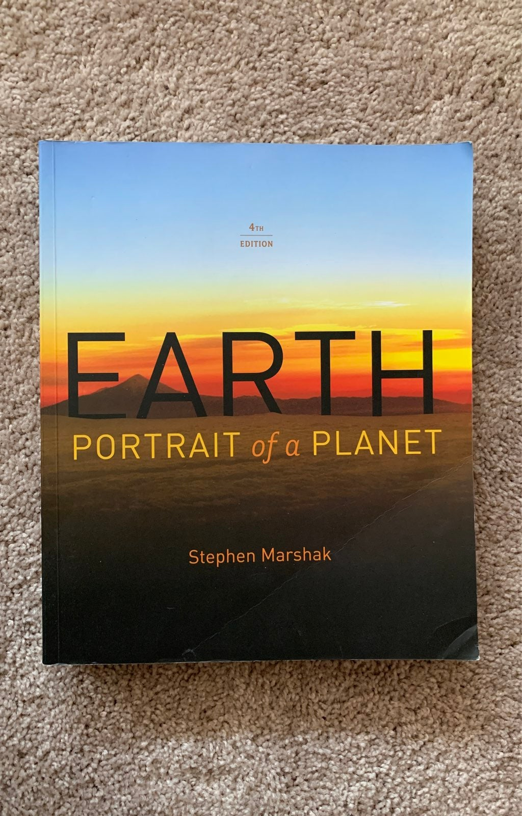 Fourth edition Earth: Portrait of a Plan