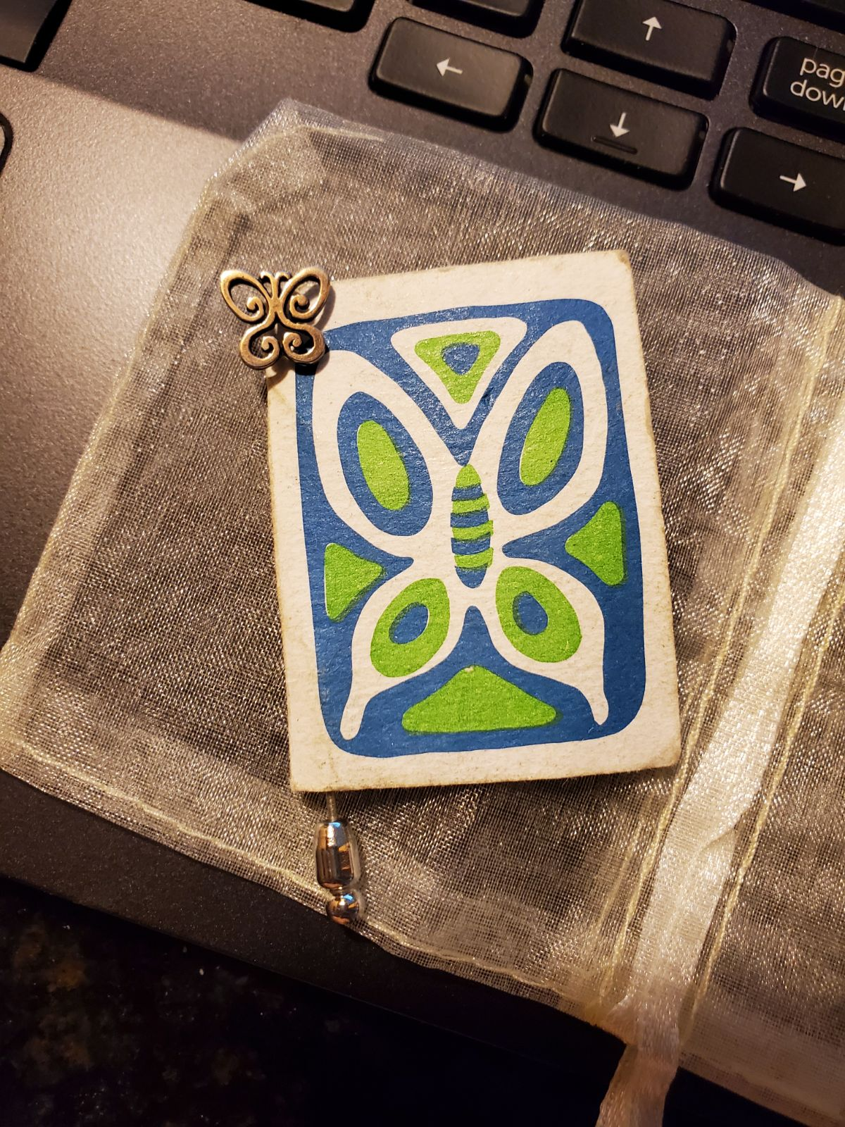 James Avery retired Spring Butterfly pin