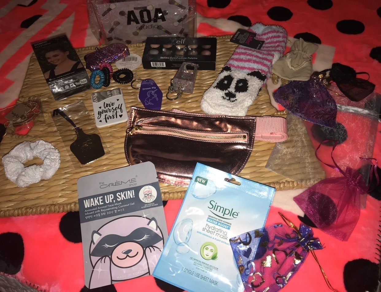 Bundle of different items