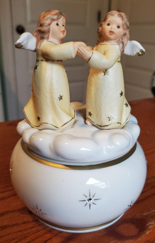 Hummel Music Box Dancing Angels