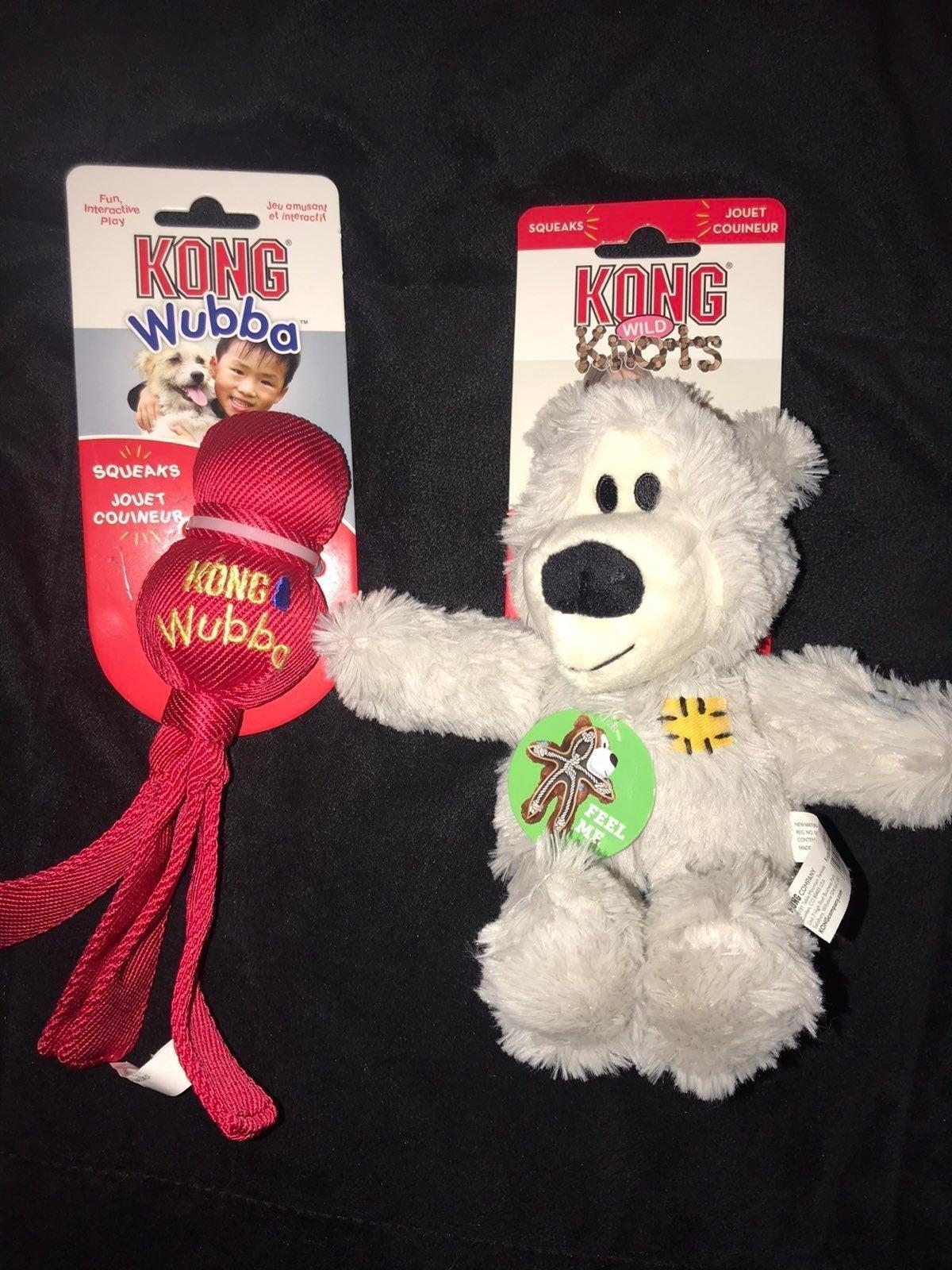 Dog KONG Wild Knots & Wubba Toys