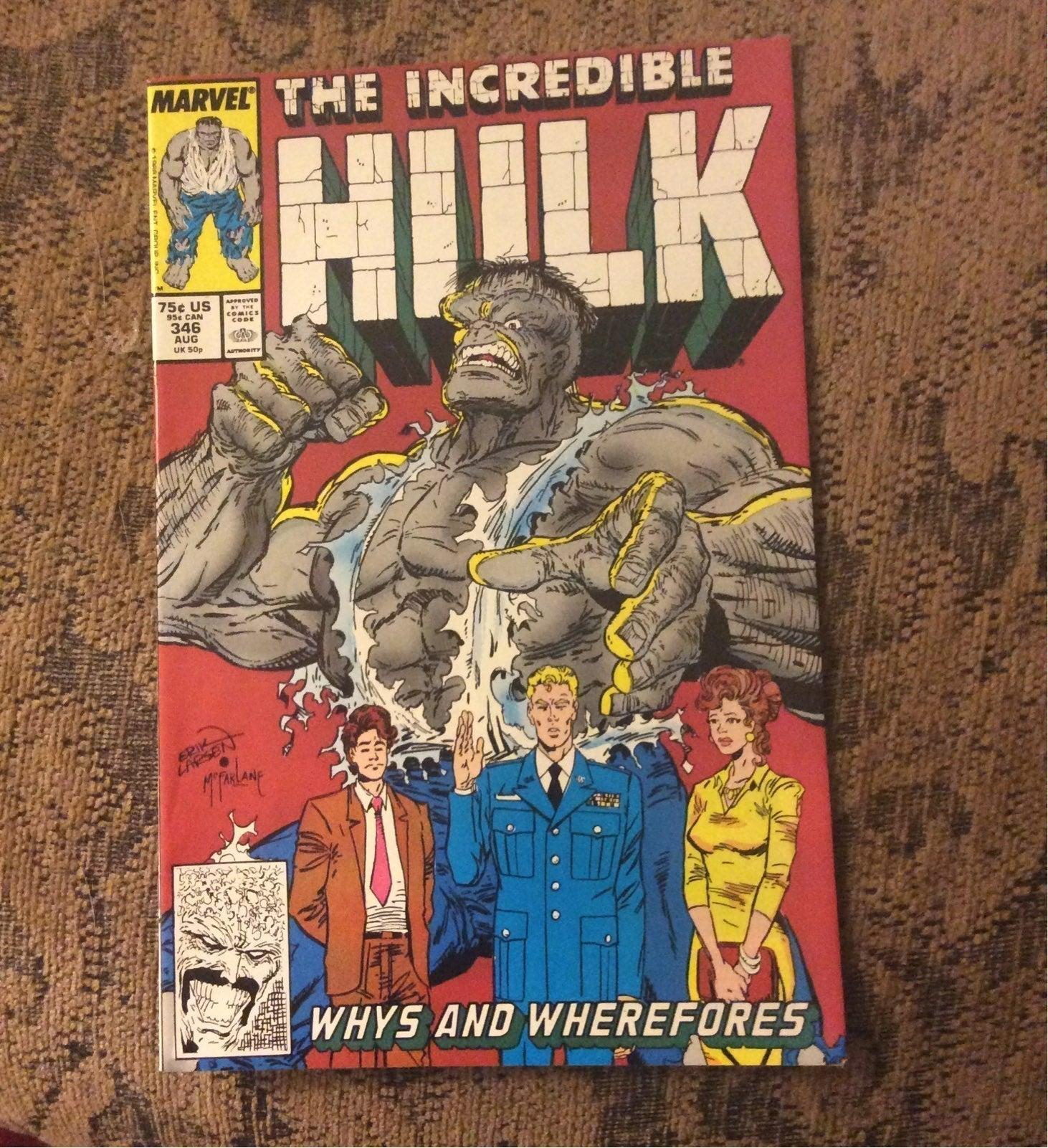 Incredible Hulk # 346
