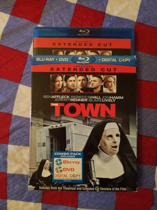 Bluray DVD the Town Extended Cut Affleck