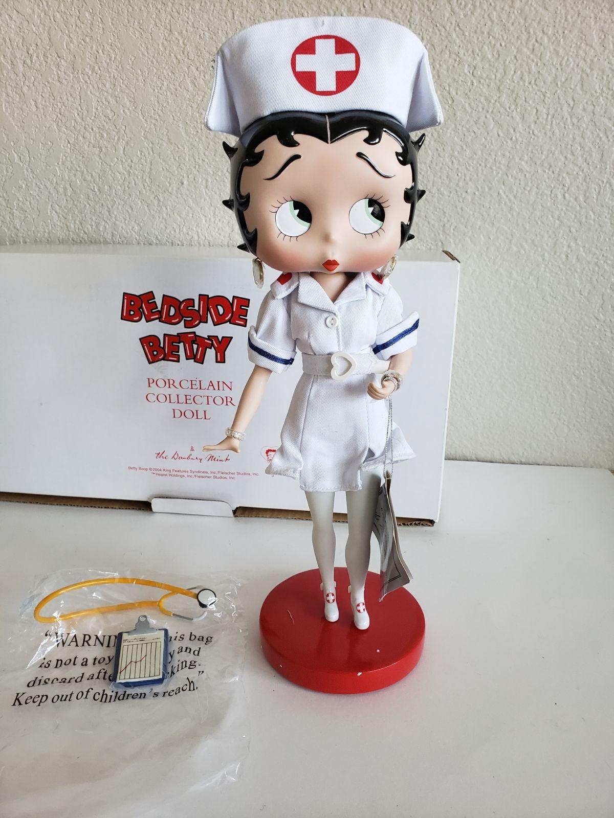 Betty Boop Bedside Doll