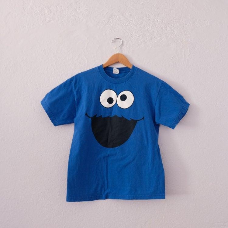 Cookie Monster T Shirt Medium