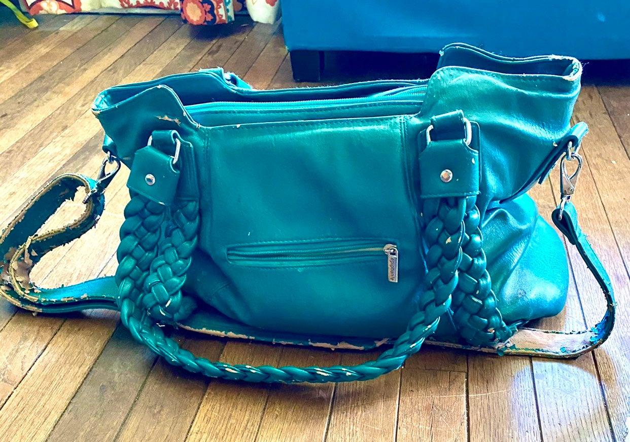 Turquoise Epiphanie Camera bag