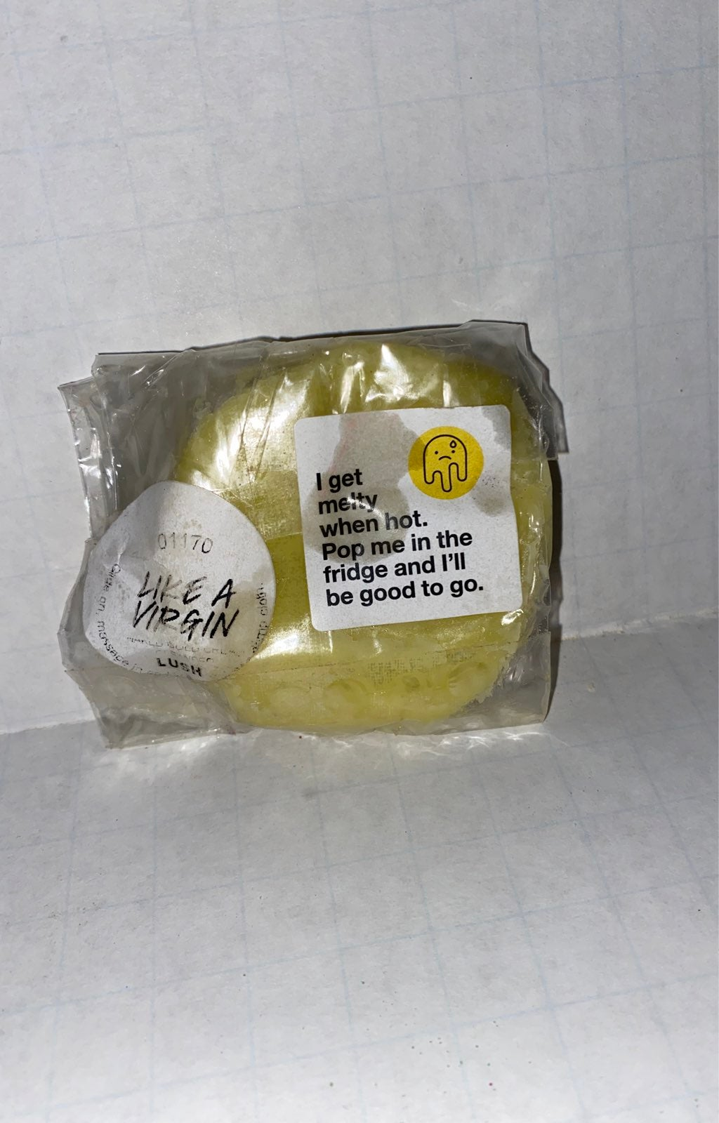 Lush- Like A Virgin Naked Cold Cream