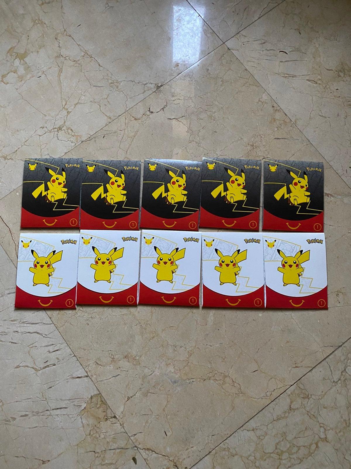 McDonalds 25th Anniversary Pokemon Cards