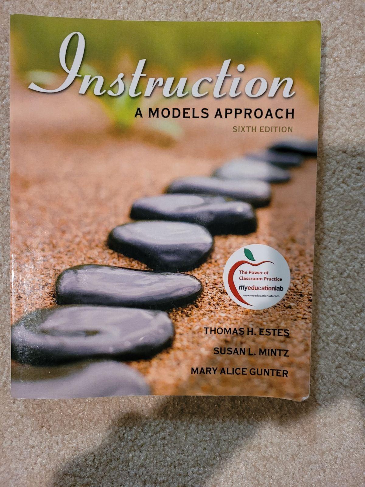 Instruction a Models Approach textbook