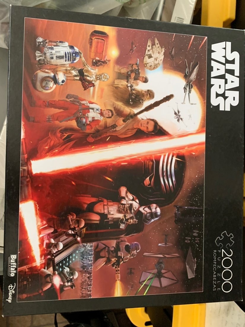 Star Wars puzzle 2000