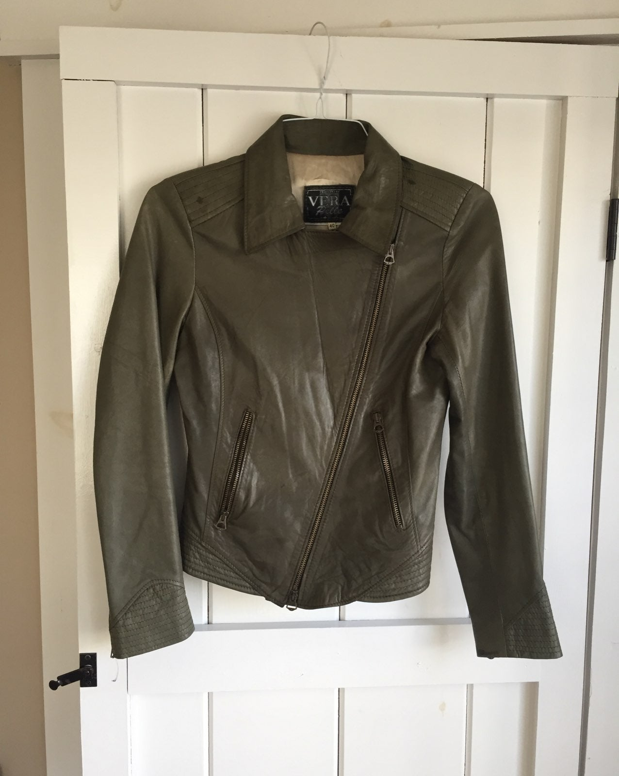 Leather jacket From Italy Size 40
