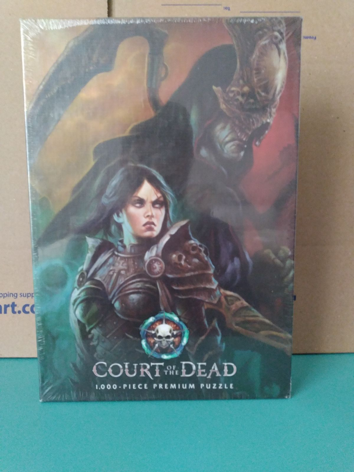 Court of the Dead puzzle