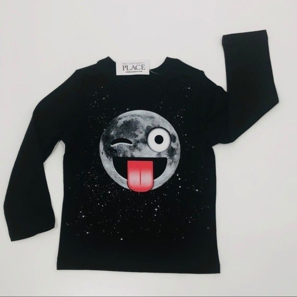 Children's Place Long Sleeve Tee 2T Moon