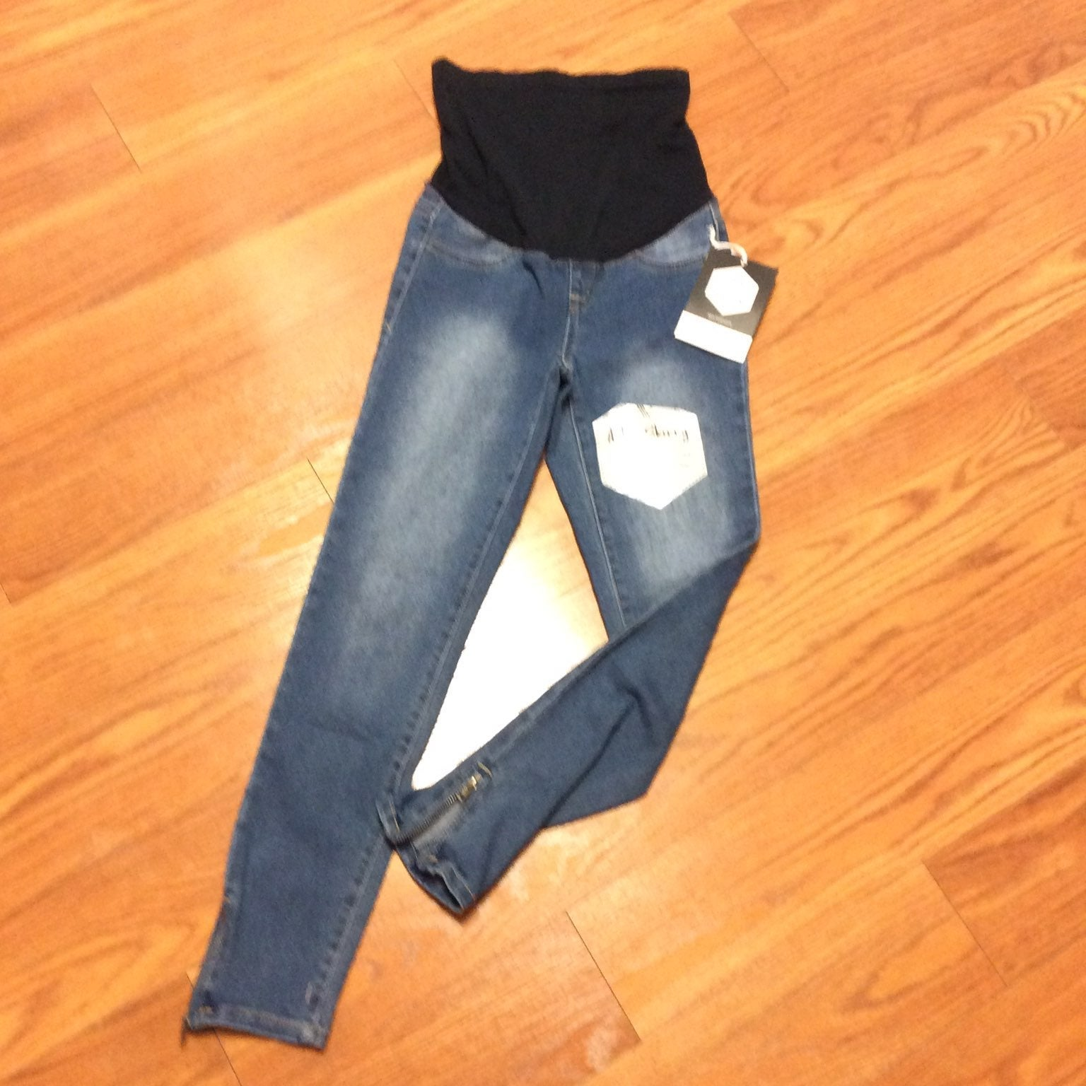 NWT Ankle Skinny Maternity Jeans Size Sm