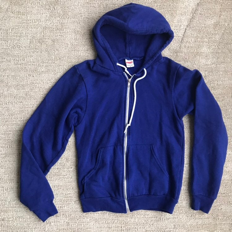 American Apparel zip-up hoodie
