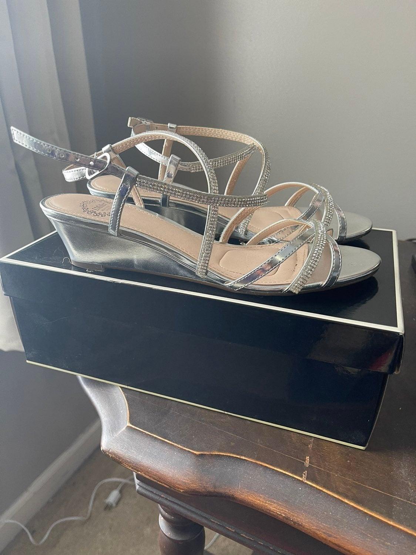 Silver sandals I.Miller