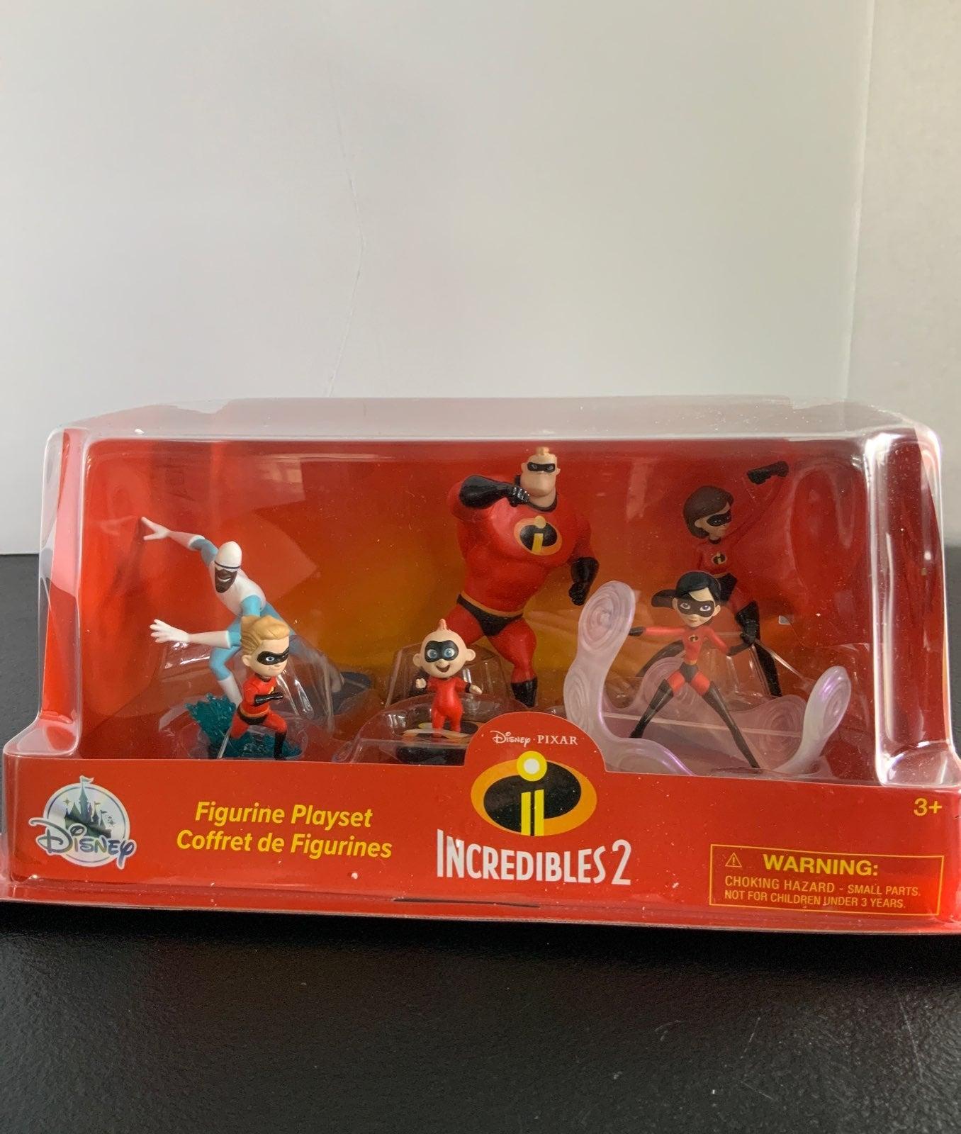 Disneys Incredibles figures