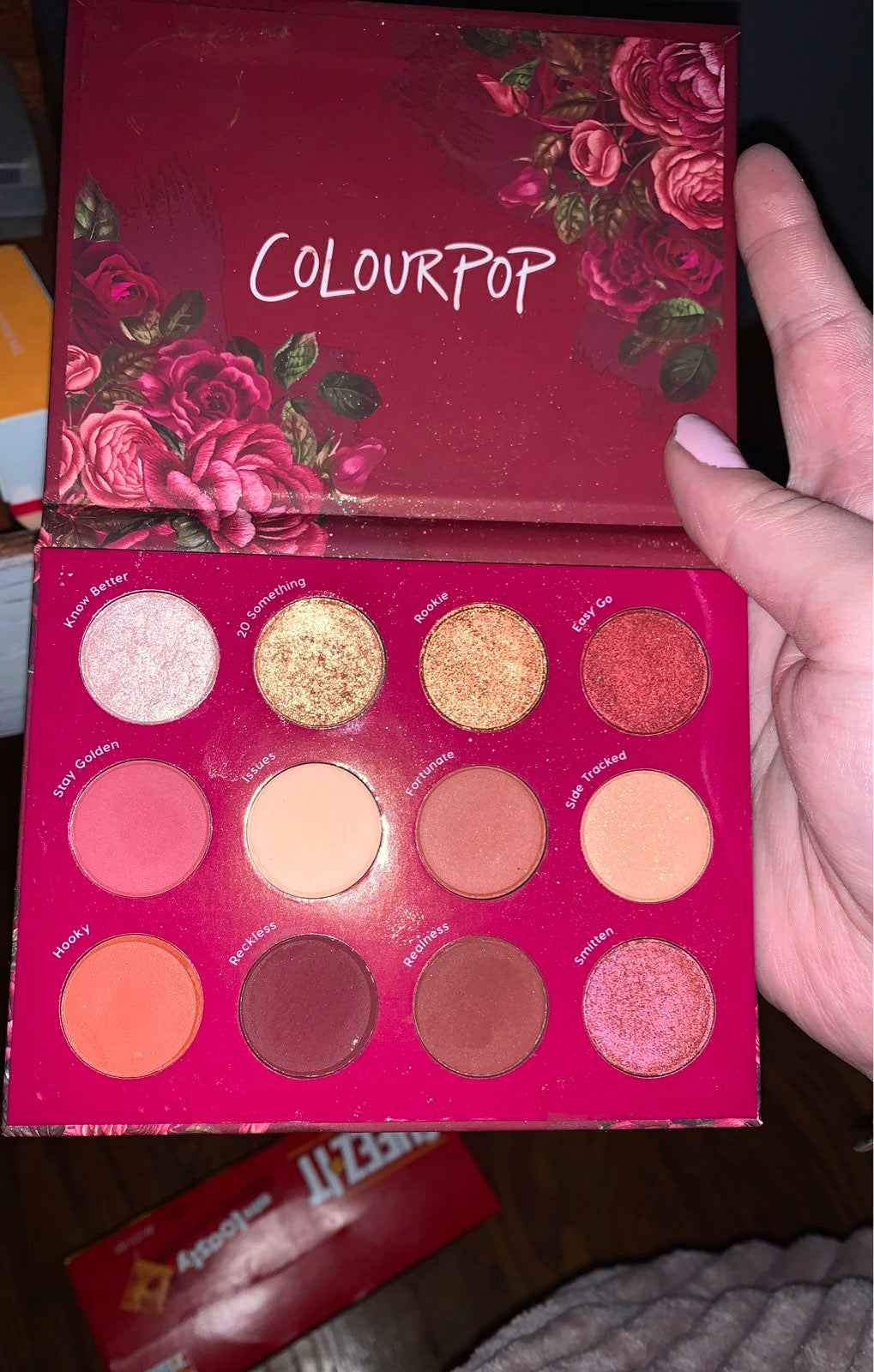 Colourpop Exes and Oh's