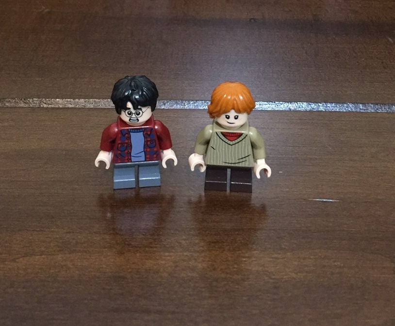 Lego Harry Potter & Ron Weasley Mini Fig