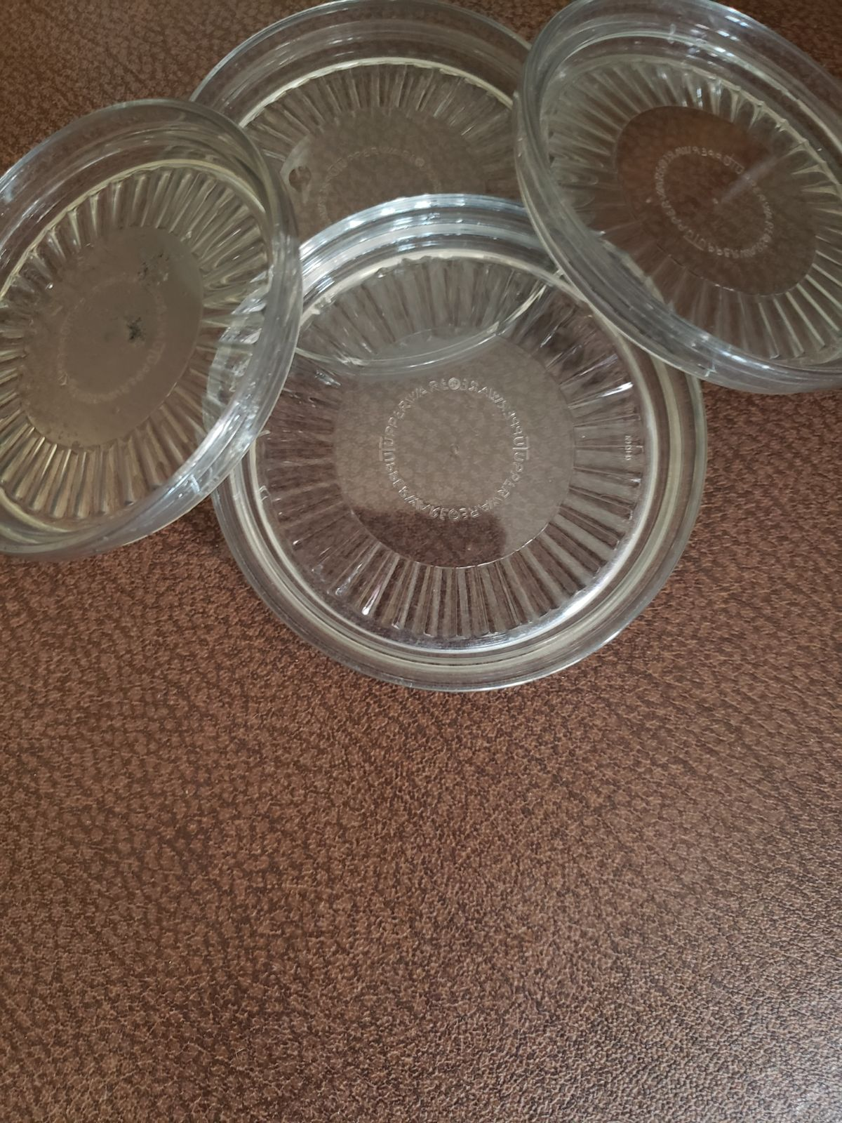 Tupperware Glass/Cup Acrylic Coasters