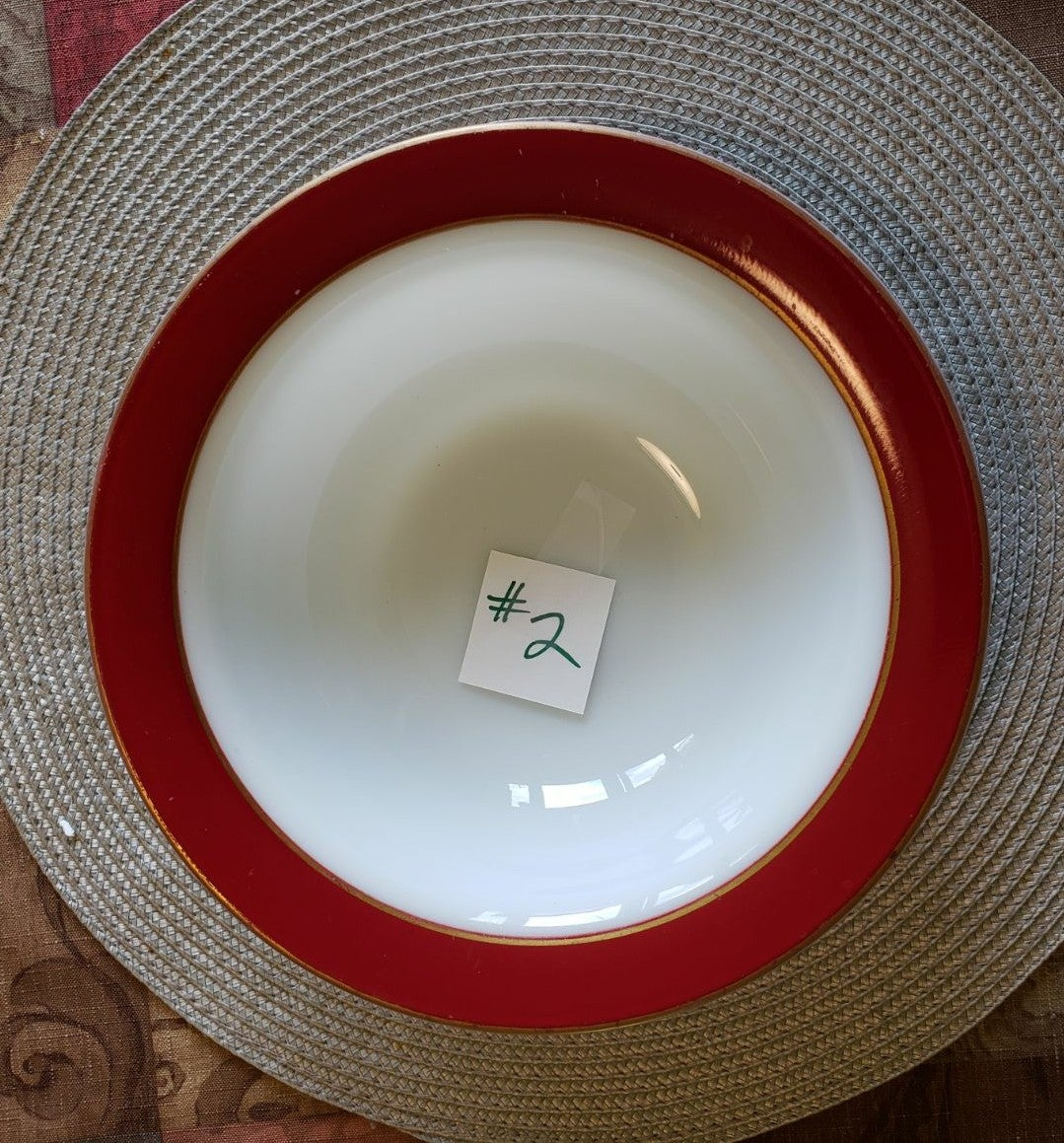 Pyrex HTF Royal Burgundy Serving Bowl #2