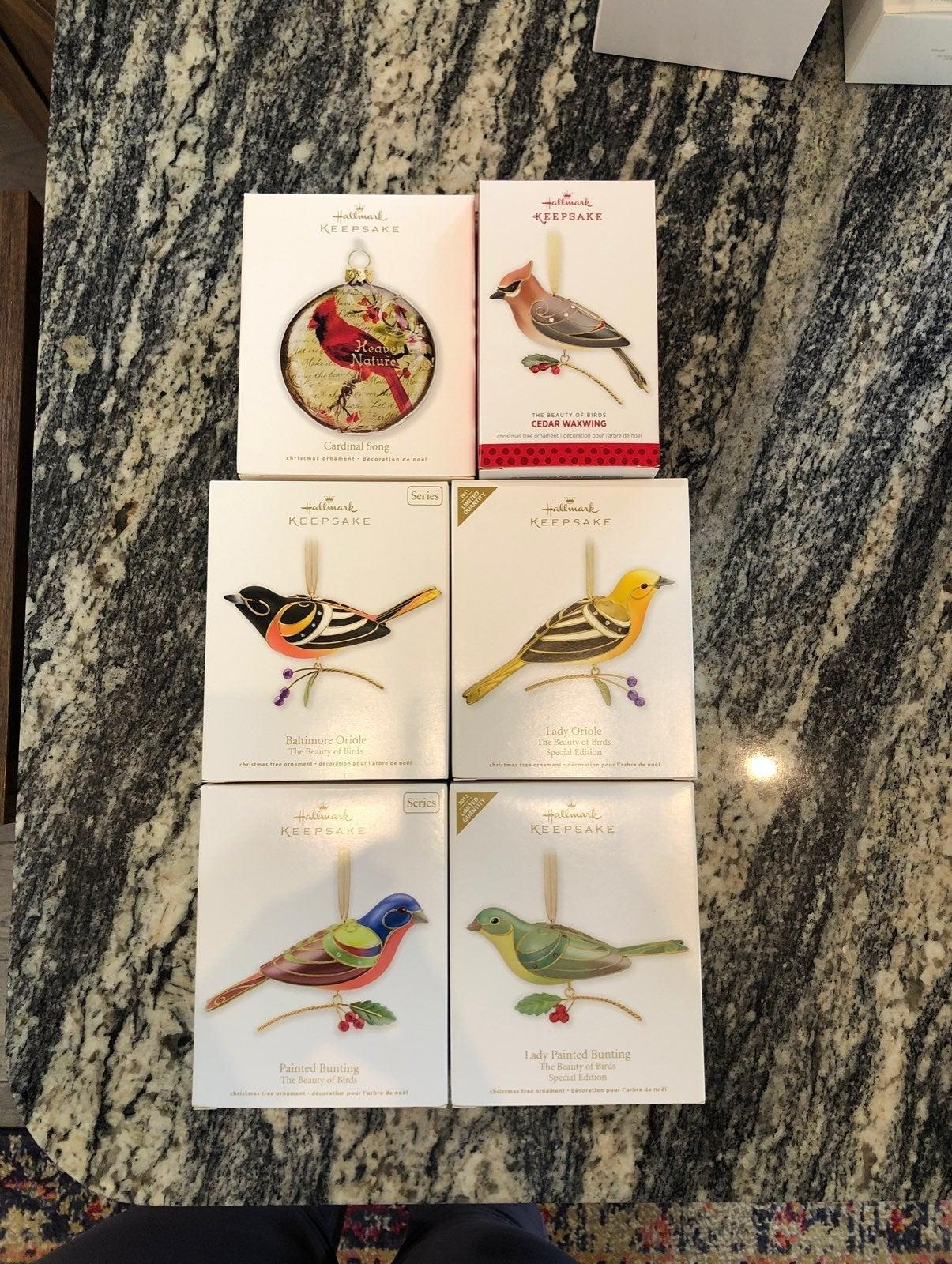 Hallmark Keepsake Beauty of Birds