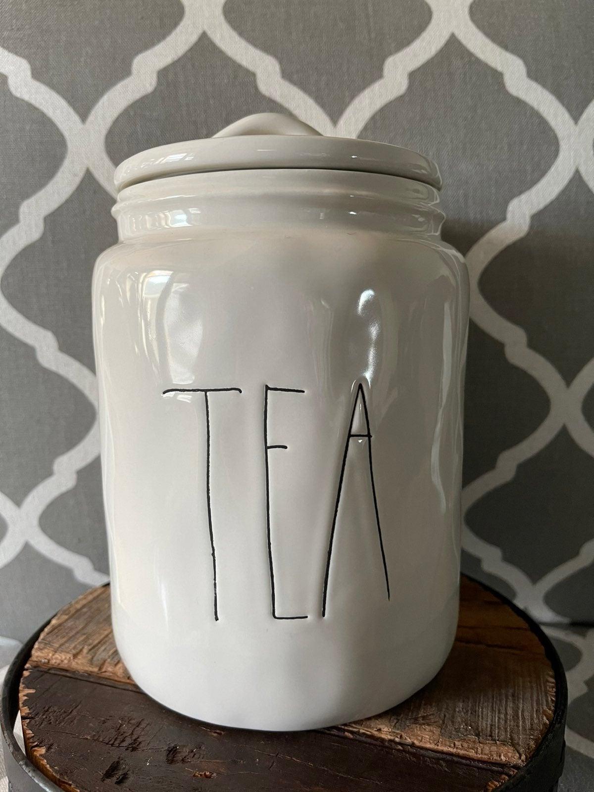 Rae Dunn Original LL 2014 Tea Canister