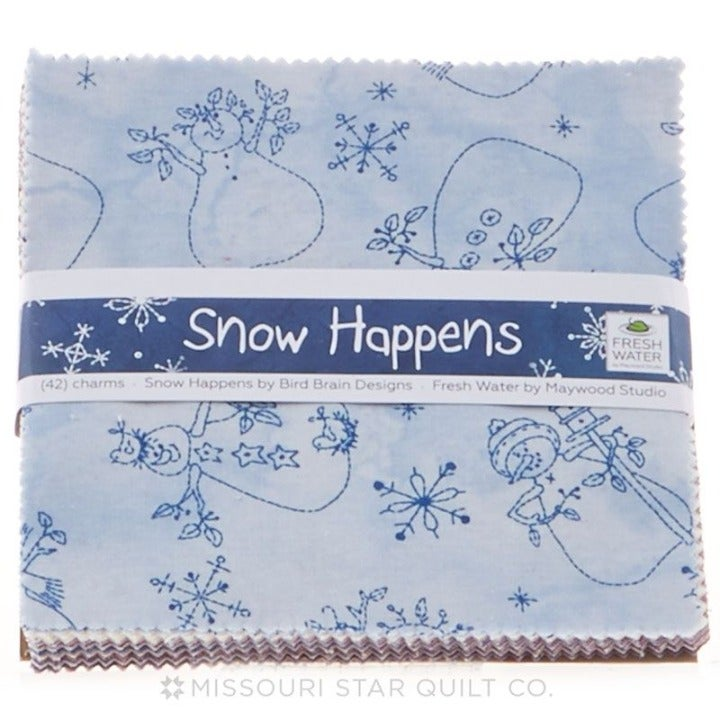 Quilting Charms Snow Happens