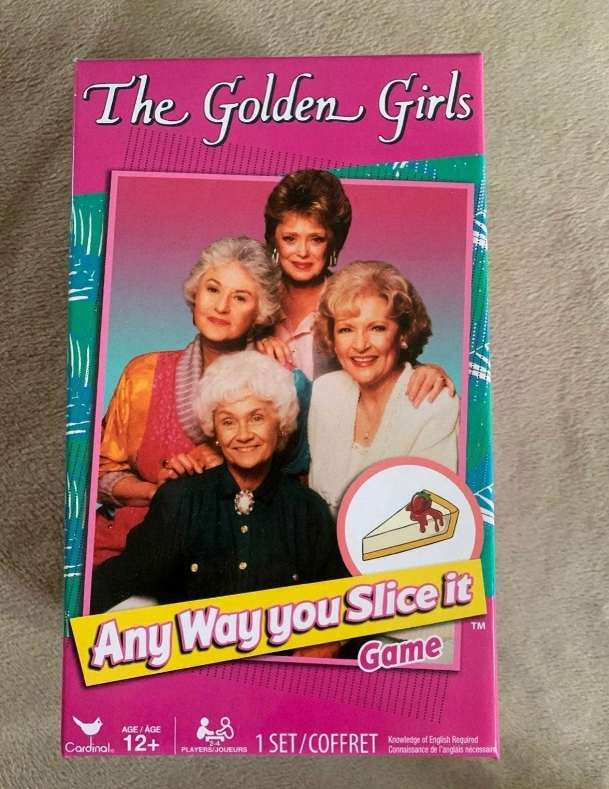 Golden Girl Trivia game brand new