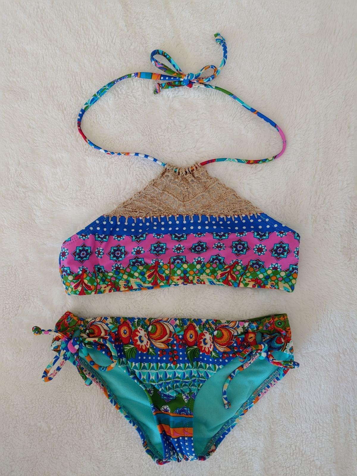 Girls Hobie boho print bikini
