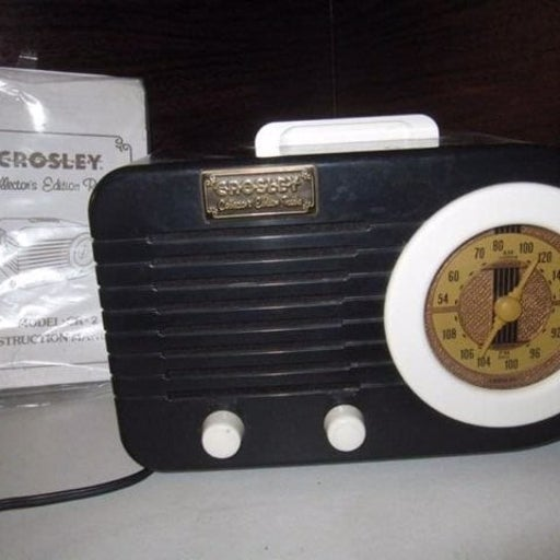 Crosley Cr-2 Fm/Am Tape player