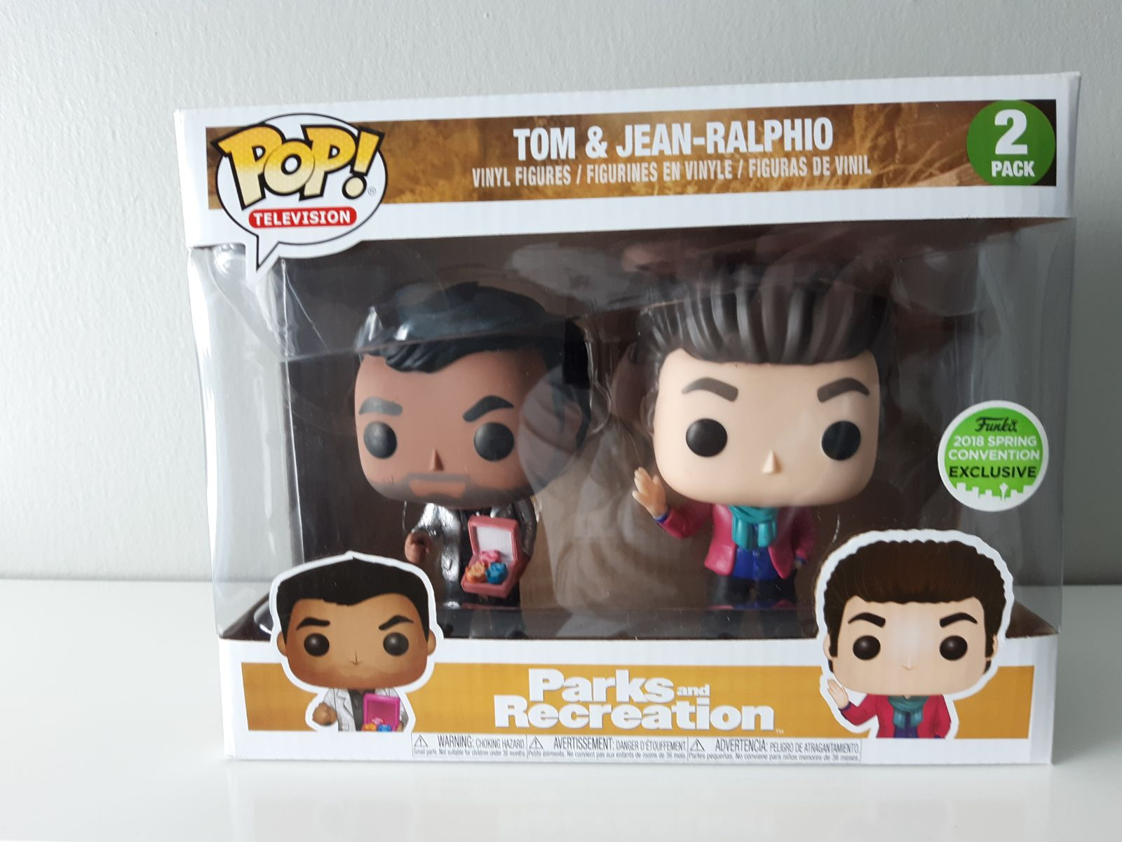 Tom & Jean-Ralphio Funko Pop
