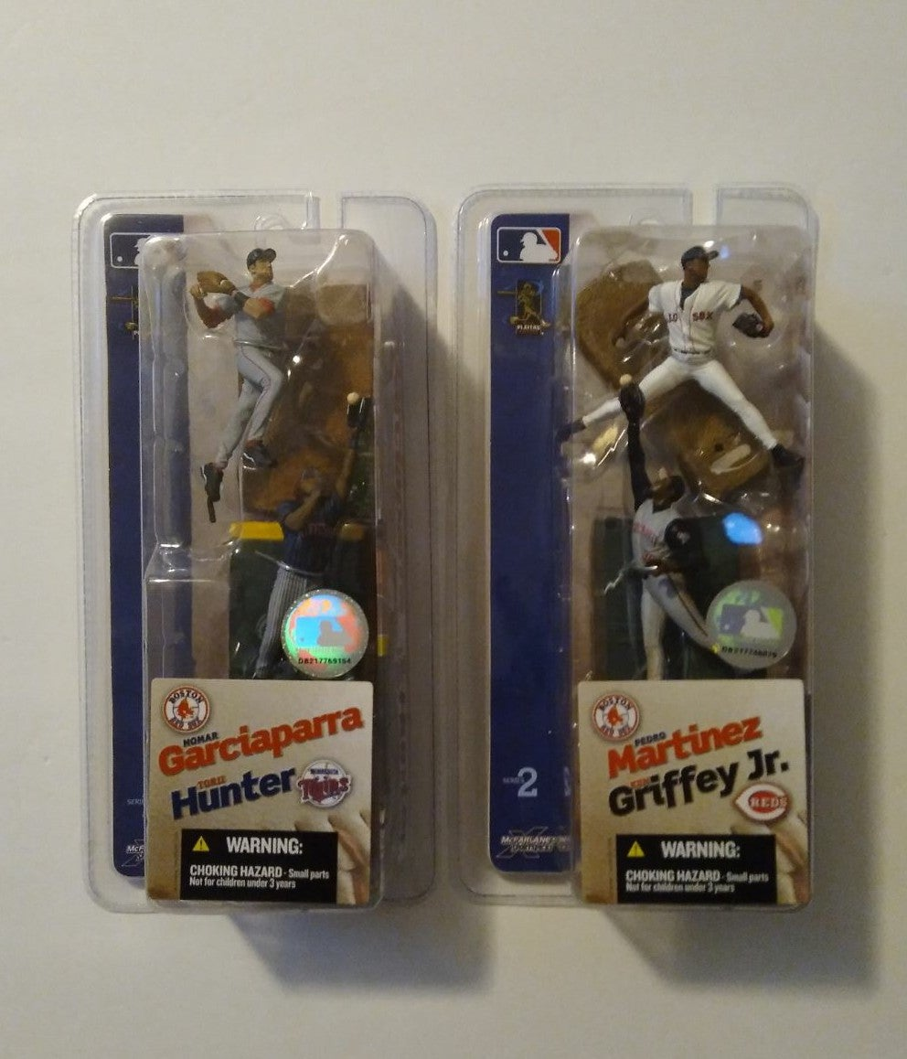 Mcfarlane toys MLB 2004 mini figures.
