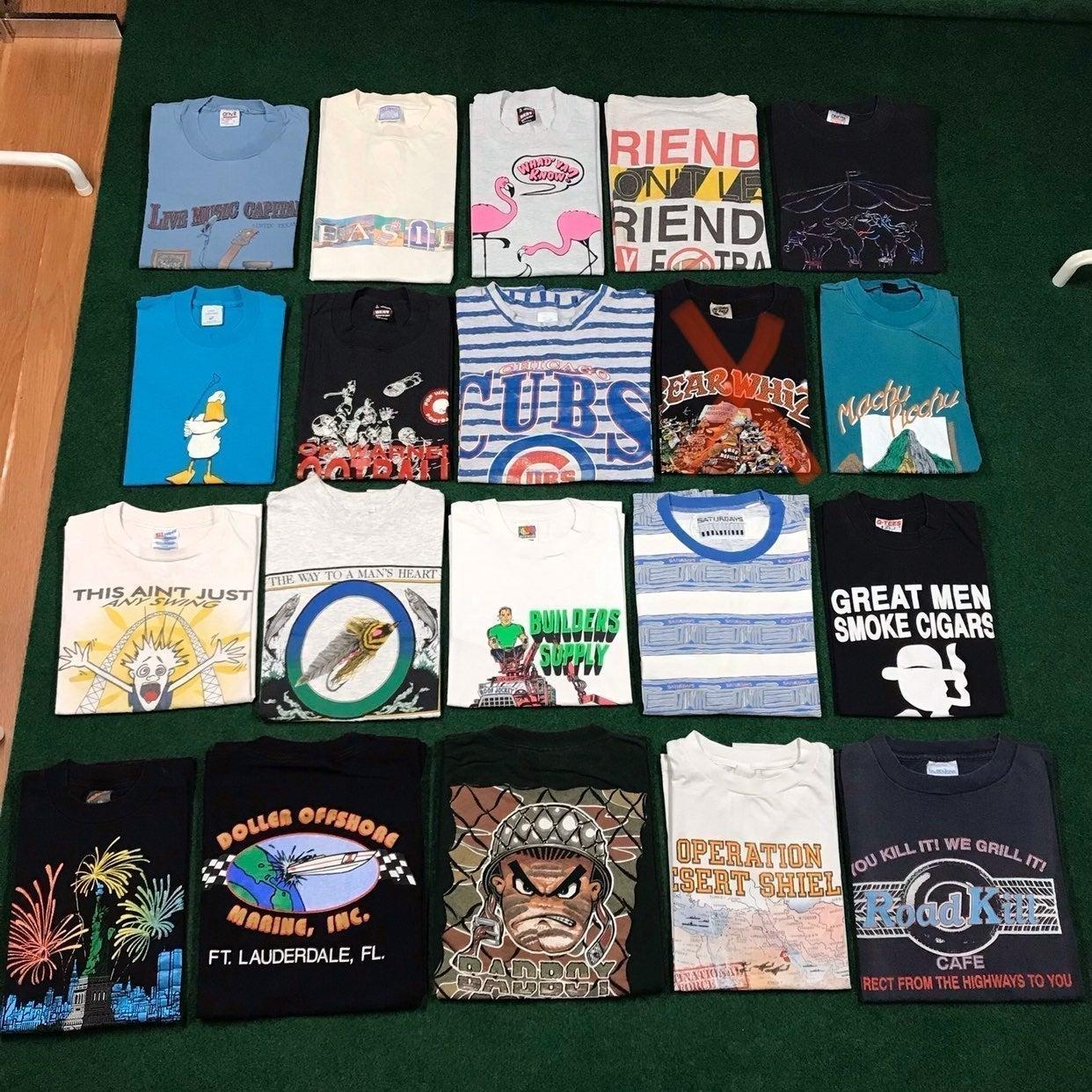Vintage 90S T Shirt Lot Of 19 Wholesale