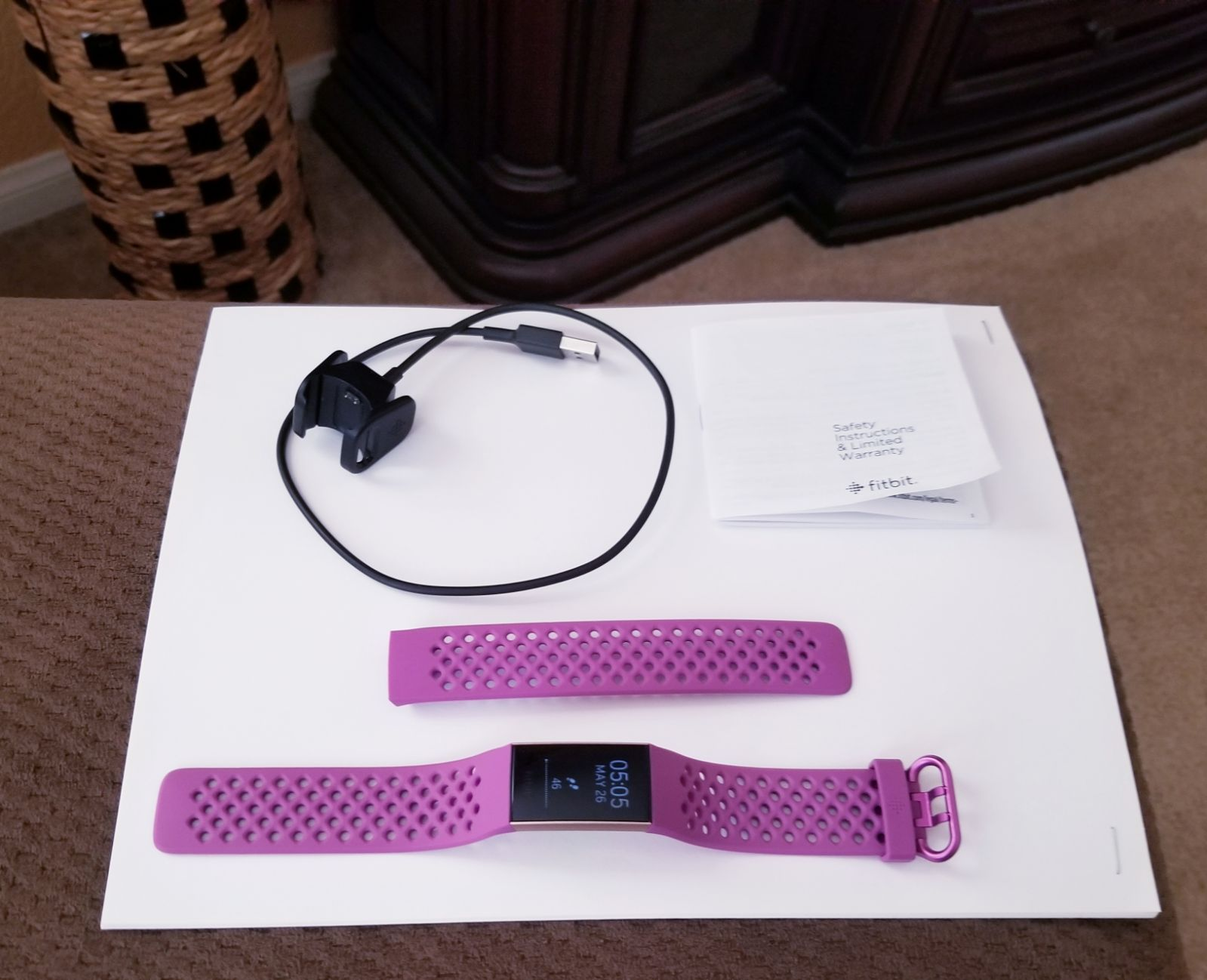 Fitbit Charge 3 Rose Gold + 1 Band